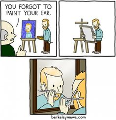 What really happened to Van Gogh.... and from now on I don't want to think about pablo's muses...