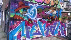 Smoking #Brighton #streetart #paintedcity #Brightongraffiti #Sussex