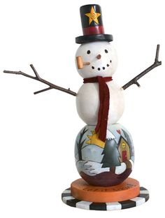 Small Snowman Product Details | Sticks, Inc.