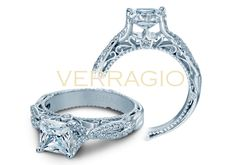 VENETIAN-5003 engagement ring from The Venetian Collection of diamond engagement rings by Verragio