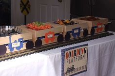 Vintage Trains Birthday Party Ideas | Photo 4 of 70 | Catch My Party