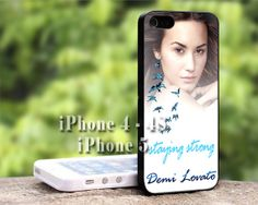 Stay Strong Demi Lovato iPhone Case-iPhone 4/4s Case-iPhone 5/5s/5c Case-iPod 4/5 Case-Samsung Galaxy S3/S4 Case
