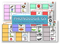 MATERNELLE-GRANDE SECTION-PHONOLOGIE- jeux sur les sons- le premier son que j'entends - laclassedelena Kids Learning Activities, Montessori Activities, Language Activities, Jobs For Teachers, Teachers Corner, Maternelle Grande Section, Colegio Ideas, French Kids, French Classroom