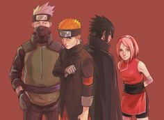 Subarashi Team 7 #Team7 #Naruto and Friends