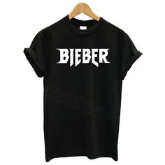Mars NY Unisex Justin Bieber tshirt Purpose Tour BIEBER tshirt ($15) ❤ liked on…