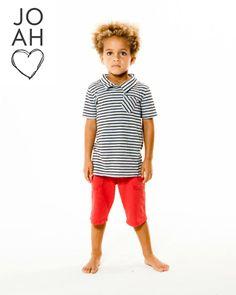 GRANT Pinstripe Collar Tee-Joah Love Spring 2014 #clothes #kids #boys #style
