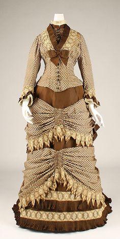 Dress 1870s