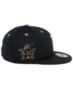 New Era Pittsburgh Pirates 2017 All Star Game Patch 59FIFTY Cap - Black 7 1/2
