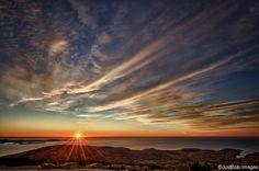sunrise. acadia national park. 3,300 miles to go. I was here several years ago. Time to go back.