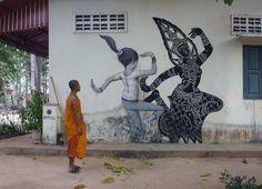 I murales di Seth nelle città del mondo - Il Post