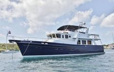 Just love a trawler. Blue water capable.