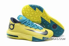 official photos 6a63b 12b18 Nike Kevin Durant 6 Shoes Yellow Blue Black TopDeals, Price   87.37 - Adidas  Shoes,Adidas Nmd,Superstar,Originals