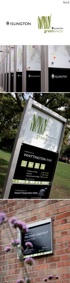 Fwdesign, in partnership with Islington Council, enhanced wayfinding and branding throughout the borough by developing a bespoke signage and street furniture family of products. www.fwdesign.com #brand #city #signage