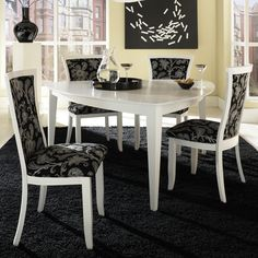"""47"""" enrica triangle counter high dining table set"""