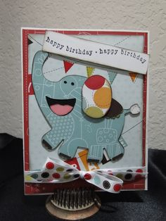 #Cricut Birthday Bash Card