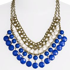 Bib necklace from nordstrom