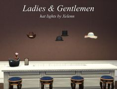 The Sims 4 Xelenn: Ladies and Gentlemen Hat lights • Sims 4 Downloads  Check more at http://sims4downloads.net/the-sims-4-xelenn-ladies-and-gentlemen-hat-lights/