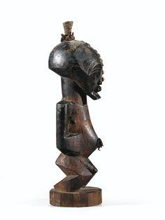 Statue, Songye, République Démocratique du Congo | Lot | Sotheby's Congo, Art Africain, Statue, African Art, Modern Art, Masks, Auction, Carving, Sculpture