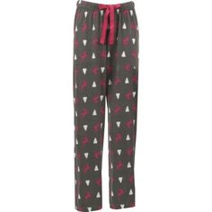 Canyon Trail Women's Reindeer Night Lounge Pant (Grey/Pink, Size X Small) - Men's Denim And Basics, Men's Loungewear at Academy Sports