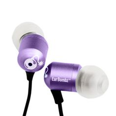 H-Bombz EarBombz Purple, $19, now featured on Fab.