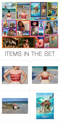 """""""Moana"""" by basic-disney ❤ liked on Polyvore featuring art"""