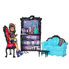 Monster High COFFIN BEAN™ CLAWDEEN WOLF™ PLAYSET- Mattel - Kmart - $31.99