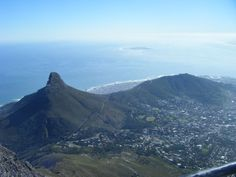 Cape Town and Lion's Head, South Africa