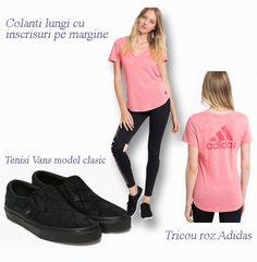 Stil sportiv cu nuante de roz Vans, Adidas, Model, Van, Scale Model, Pattern, Models, Modeling