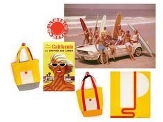 Pacific Tote Company, I Love Your California Surfer Vibe