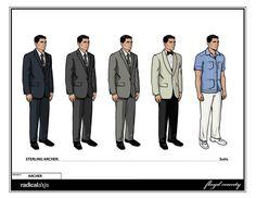 Suits #ArcherFX
