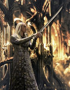 Lee Pace as Thranduil in The Hobbit Trilogy