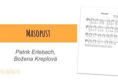 Masopust – P. Erlebach, B. Kreplová |Písnička na masopust