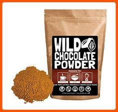 Organic Raw Cocoa Powder, Wild Dark Chocolate Powder, Handcrafted, Single-Origin, Fair Trade, Organically Grown Non-Alkalized Cacao from South American Cocoa beans (12 ounce) - Fun stuff and gift ideas (*Amazon Partner-Link)