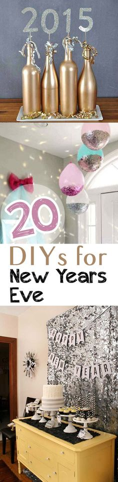 New Years Eve, party ideas, holiday party, popular pin, DIY party, holiday hacks, holiday decor.