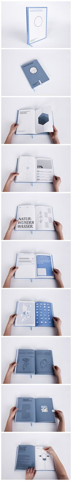"""Ausgetrunken """"Ausgetrunken. Wie Wasser zu einer knappen Ressource wurde"""" ist ein Buch für jeden, der sich für seine Umwelt und insbesondere für die globale Wasserkrise und ihre Zusammenhänge interessiert. Wissenswerte Fakten und ihre Konsequenzen zum Thema Wasser werden durch sachliche Informationsgrafiken in Form von einfachen Strichzeichnungen verdeutlicht und dem Leser kompakt zur Verfügung gestellt. Bachelorthesis WS 13/14 http://www.isabellschmidt.de/"""