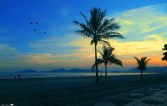 End of the Day 1 - Embaré Beach - Santos/SP - Brazil