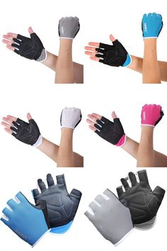 [Visit to Buy] Men Gloves Women Gloves Body Building Training Sport Fitness Gloves Exercise Weight Lifting  #Advertisement