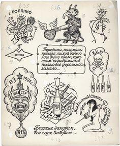 Toutes les tailles   Russian Criminal Tattoo Drawing_6003   Flickr : partage de photos !