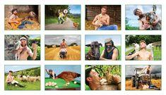 Buy the 2020 Irish Farmer Calendar. 12 hunky Irish farmers in cute and hilarious poses. Irish Beef, Stuffed Mushrooms, Hilarious, Poses, Image, Gifts, Stuff Mushrooms, Figure Poses