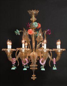 Murano Glass Chandelier #380