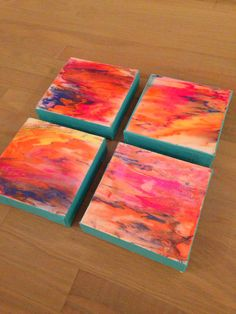 """""""Sunset"""" collection. Chandler Hines Art"""