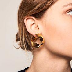 Pearl Cube Gold Ear Jackets - ear jackets / gold ear jacket / ear jacket earrings / modern earrings / statement earrings / gifts for her - Fine Jewelry Ideas Black Diamond Earrings, Emerald Earrings, Rose Gold Earrings, Bridal Earrings, Bridal Jewelry, Wedding Earrings Gold, Diamond Rings, Ear Jewelry, Gold Jewelry