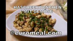 Hascheehörnchen mit Gemüse, in 30 Minuten servierfertig Potato Salad, Potatoes, Chicken, Meat, Ethnic Recipes, Food, Eating Well, Food Food, Cooking