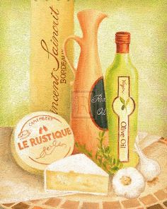 Cuisine Du Monde I Art Print by Sophia Sanchez Easyart.com