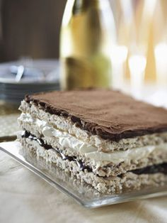 Get the recipe: Marjolaine by MCC Chef Wolfgang Puck #culinarycouncil #recipe #dessert