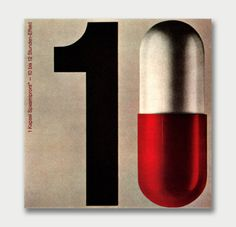 small, but striking round-up of corporate printed collateral for mid-Century modern pharmaceuticals from Europe, c. 1960s(above art by Hans Schweissfound in issue 10 of Gebrauchsgraphik, via Aqua-Velvet)
