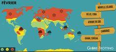 Où et quand partir en voyage ? | Globe-Trotting