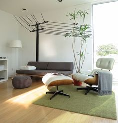 Eames Lounge Chair Bequem Grün Teppich Bettdecken Pictures Gallery