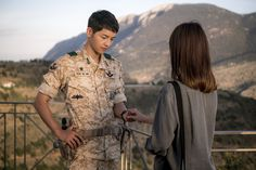 What am I going to do when Descendants of the Sun ends?! Waaaah! Okay, there are still 4 episodes, so, I'll hang on … I can do this.  Anywho, more official stills from la…