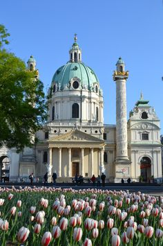 St. Charles' Church - Vienna, Austria